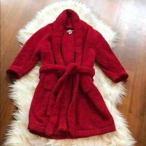 Red Bathrobe
